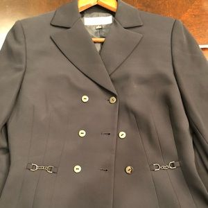 Tahari two piece suit basically brand new.
